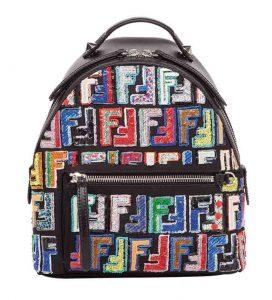FENDI Sequin Embellished Backpack, PKR 230,000 farfetch.com