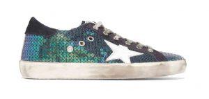 GOLDEN GOOSE DELUXE BRAND Super Star Distressed Sneakers, PKR 42,000 neta
