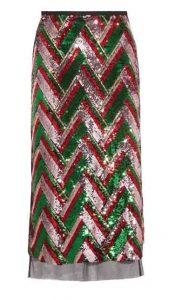 GUCCI Sequined Tulle Skirt, PKR 380,000 neta