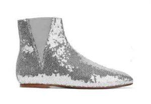 LOEWE Sequined Leather Chelsea Boots, PKR 65,000 neta