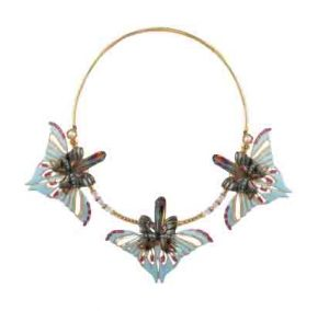 OUTHOUSE Gold Plated Papilio Necklace PKR 32,000