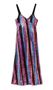ZARA Crossover Sequinned Dress, PKR 12,000 zara