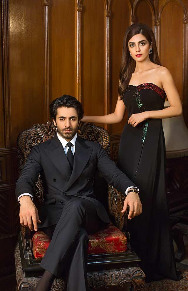 Maya Ali & Sheheryar Munawar - OK! Pakistan