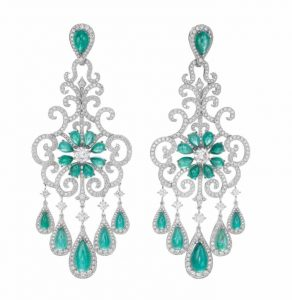 CHOPARD Paraiba Tourmaline & Diamond Earrings