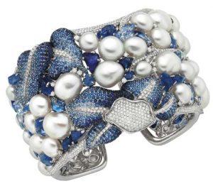 AUTURE Sapphire Diamond Cuff