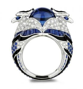 BOUCHERON Sapphire Ring