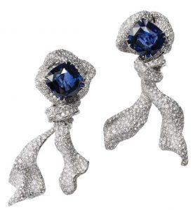 CINDY CHAO Ribbon Earrings