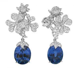 DIOR Sapphire Earrings
