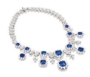 MARINA B Sapphire Necklace