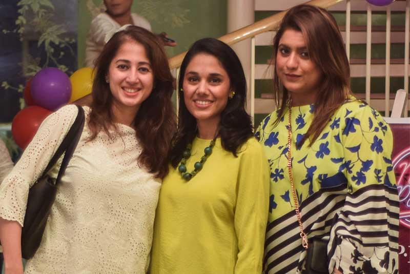 Saima, Batool & Roohina