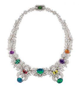 GUCCI Diamond & Opal Necklace