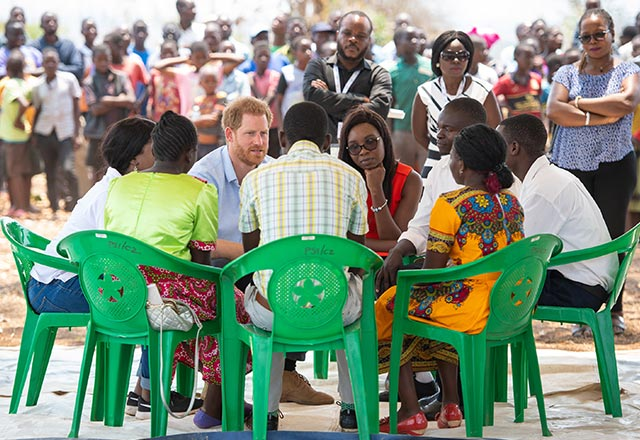 The Duke Of Sussex Visits Malawi