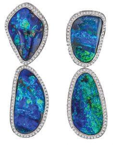 KATHERINE JETTER Opal Drop Earrings