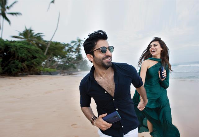 shehreyar and Sadaf kanwal