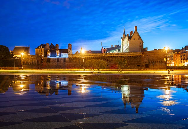Castle of the Dukes of Brittany or Chateau des ducs de Bretagne is a castle in Nantes city in France