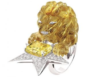 CHANEL Constellation du Lion Ring
