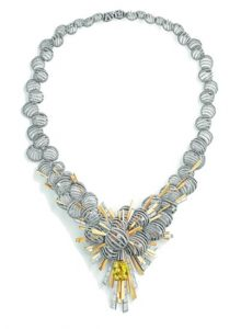 CHAUMET Gold with Yellow & White Diamonds