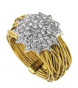 MIMATA NEST Gold & Diamond Ring