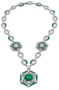 BVLGARI Emerald Necklace get your green jewellery