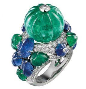 CARTIER Tutti Frutti Ring get your green jewellery