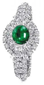 GRAFF Emerald and Diamond Bracelet