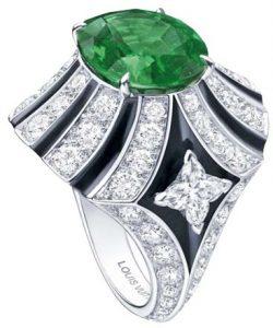 LOUIS VUITTON Emerald Ring