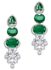 VARUNA D JANI Emerald Earrings