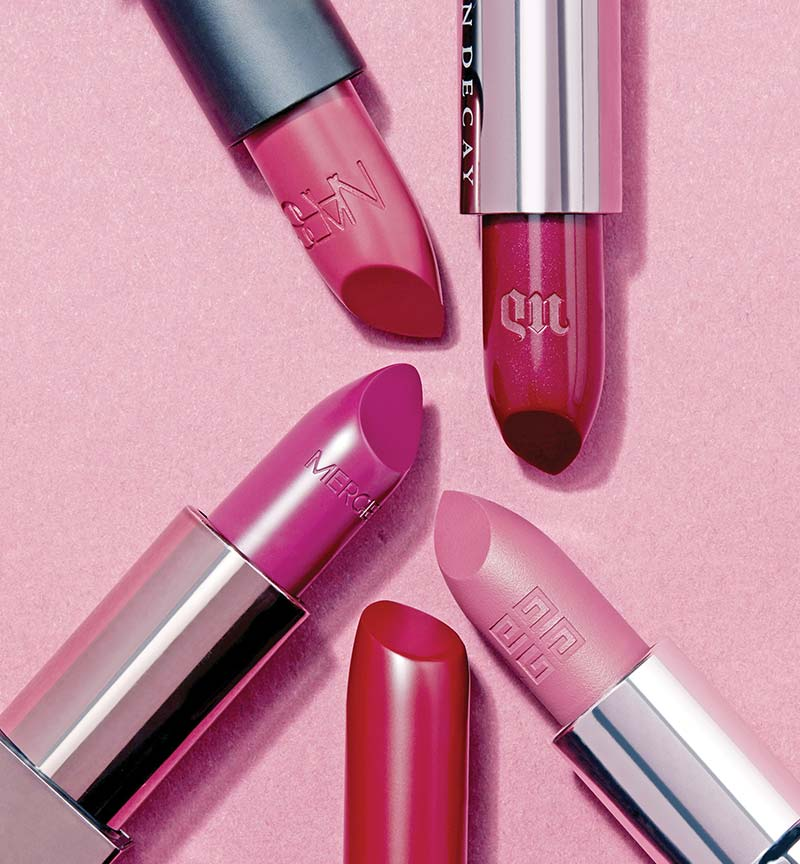 lipsticks berry nice shades