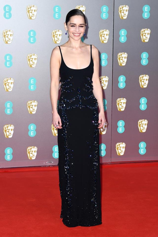 Emilia Clarke in Schiaparelli