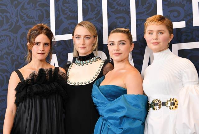 Emma Watson, Saoirse Ronan, Florence Pugh, and Eliza Scanlen