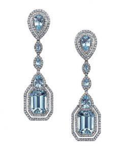 STEINERS Paris Aquamarine Earrings