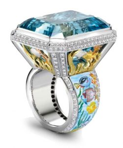 THEO FENNELL Aquamarine Ring